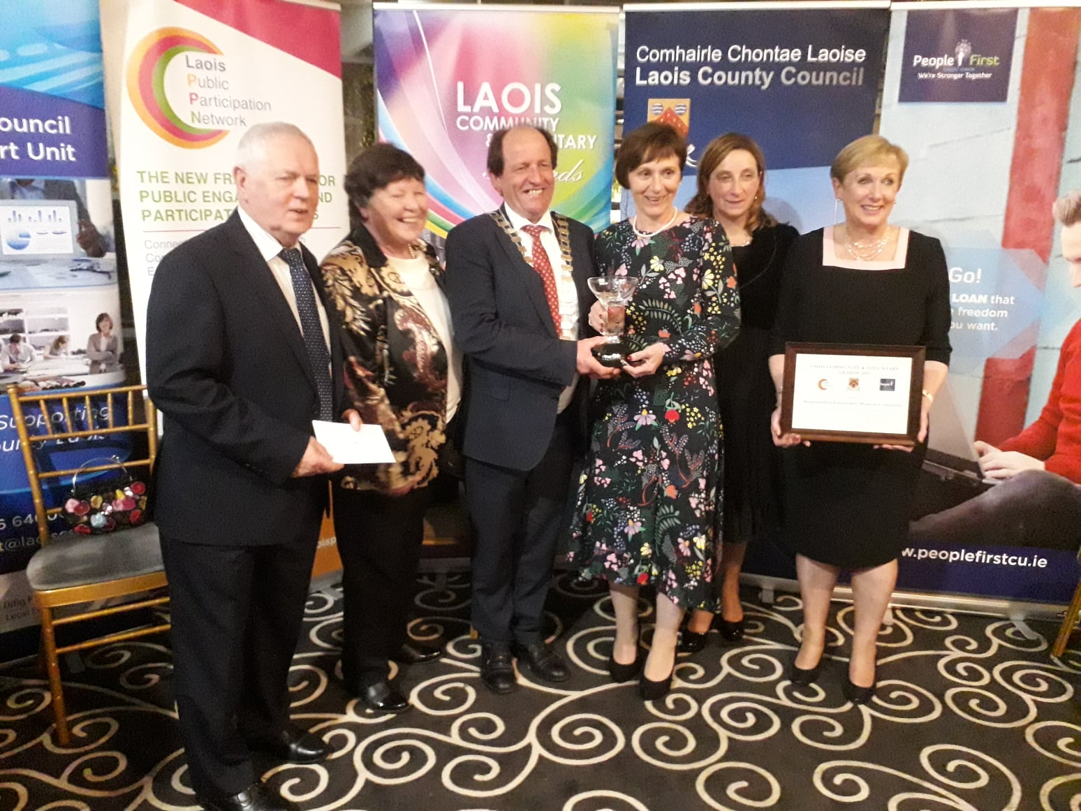 Laois Community  Voluntary Awards Arts Culture and Heritage Award Category